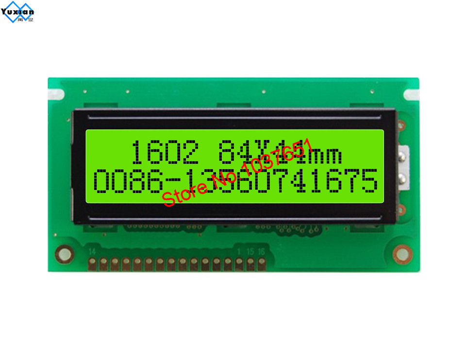 REX001602GWPP5N0 Display Oled Alphanumerische 16x2 Dim84x44x9.67mm Weiß
