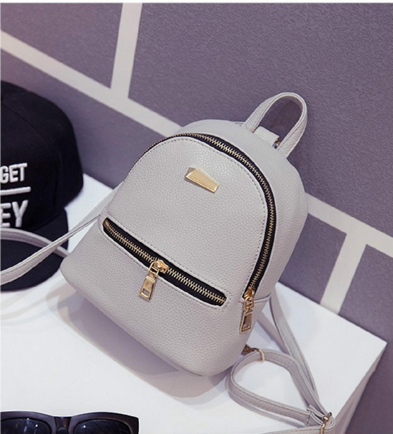 Hot Fashion Women Girls Mini Backpack Leather Shoulder School Rucksack Ladies  Holiday Travel Bag 2019 New