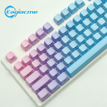Eagiacme 104 шт pbt dip цветные колпачки для клавиш mx Переключатель