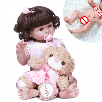 Baby Toys bebe reborn 48cm new reborn toddler girl Full body soft silicone reborn baby dolls child gift dolls