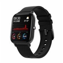 Novo p8 1.4 Polegada inteligente masculino torneira relógio completo rastreador de fitness feminino relógio arterial pressão relógio inteligente gts smartwatch
