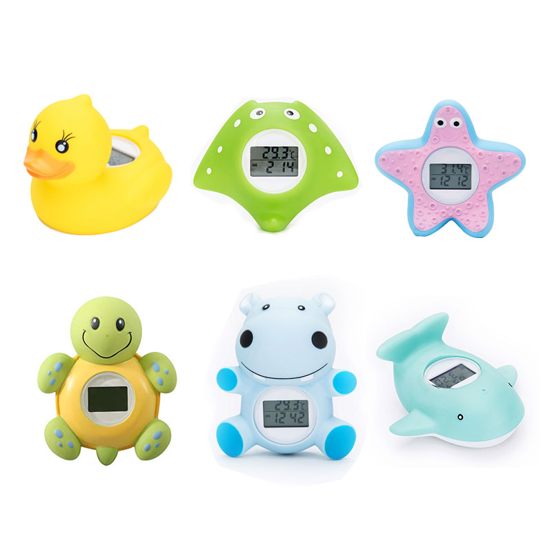 Baby Bath Thermometer Household For Children Bathtub Swimming Pool Safety Thermometer With Temperature Alarm