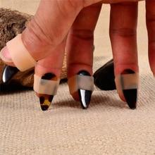 Набор чехлов для ногтей guzheng, 4 шт., китайские чехлы для ногтей, Защитные чехлы для ногтей guzheng, Аксессуары для инструментов
