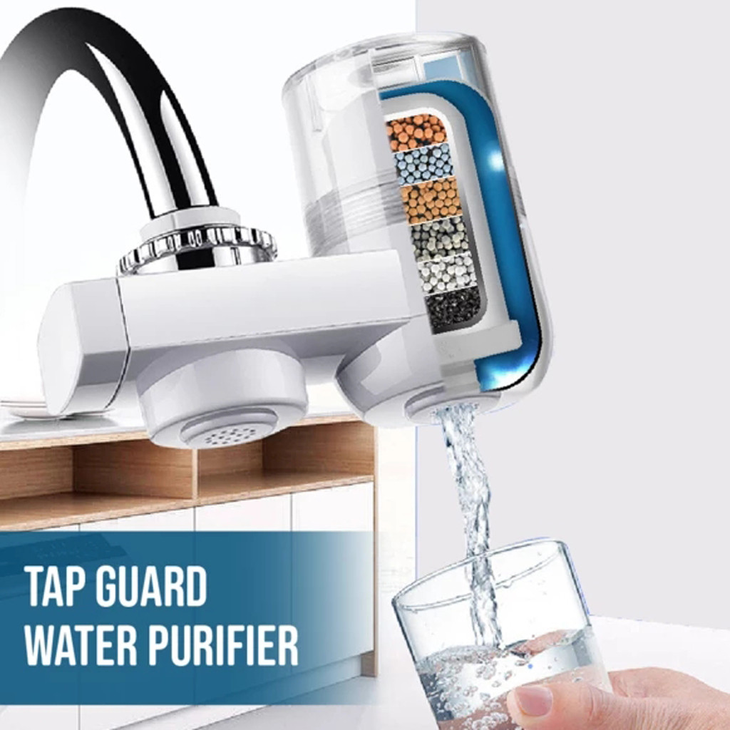 Faucet Water Filter for Kitchen Sink Or Bathroom Mount Filtration Tap Purifier kitchen tool accessories sink faucet water filter