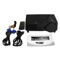 Leichte Kompakte und Tragbare High definition LCD LED Projektor 800*480 2000 Lumen HD Home Theater HDMI VGA AV USB
