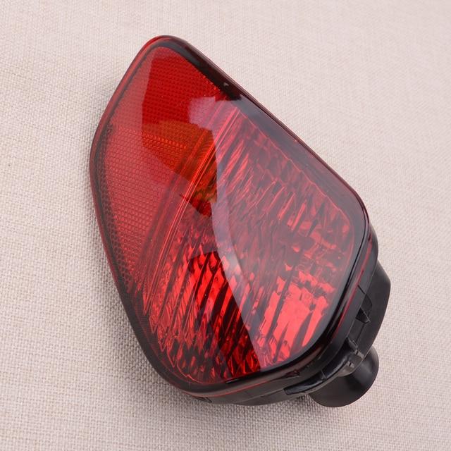 12V Car Left Rear Bumper Fog Light Tail Lamp Fit for Mitsubishi Outlander 2016 2017 2018 No Bulbs Accessories