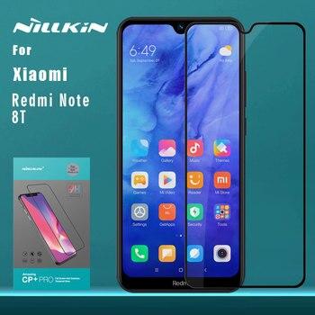 for Xiaomi Redmi Note 8T 8 7 Pro Tempered Glass Nillkin 2.5D Full Cover Screen Protector for Mi 9 Pro 5G 9T Pro 9 8 SE Lite A3