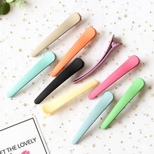 South Korea INS Candy-Colored Acrylic Dull Polish Side Clip Duckbill Clip Bobby Pin Makeup Face Wash Bang Clip Hair Accessories(China)