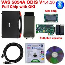 цены VAS 5054A OKI Full Chip VAS5054A ODIS V4.4.10  With Keygen VAS5054 ODIS 4.4.10 OBD2 Bluetooth Diagnostic Scanner Auto Tool