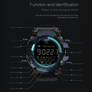 Image 4 - Lokmat mk16 relógio smartwatch unissex, relógio inteligente, el luminoso, esportivo, bt, monitoramento de atividades esportivas, para android/ios