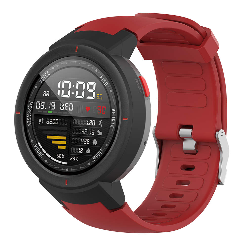 Silicone Watch Strap For Xiaomi Huami Amazfit Verge 3  (A1801)  Smart Watchband Sport Bracelet Wriststrap Waterproof