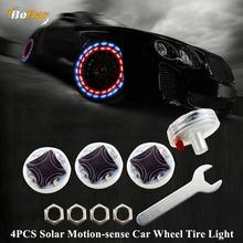4 шт датчик движения на солнечной энергии светильник автомобильных