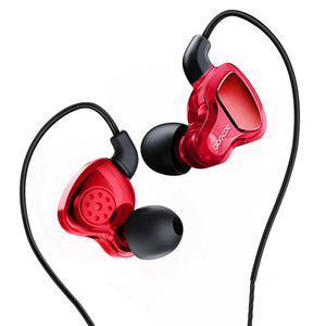 Image 5 - D6 Wired Headphones Sports Running 3.5mm Handsfree with Mic TWS Pro Deep Bass Waterproof Gaming In Ear Earphone Noise Canceling