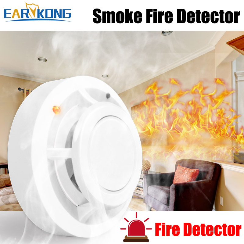 Fire-Smoke-Sensor Protect-Your-House Alarm-All Home-Security For Independent High-Sensitive