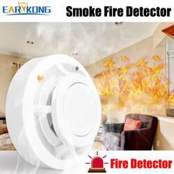 Независимый датчик пожарного дыма Высокочувствительный сигнальный датчик дыма все для вашей домашней безопасности защищает ваш дом