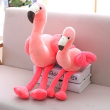 Swan Decoration Pillows Plush Toy for Baby Flamingo Doll Stuffed Animals Soft Toy for Children Girlfriend Birthday Gift Kids Toy(China)
