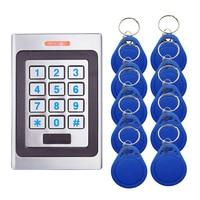 AMS A7 metal sistema de controle acesso dispositivo máquina 2000 entrada e saída do usuário 125 khz porta entrada proximidade ip67 à prova dip67 água   -