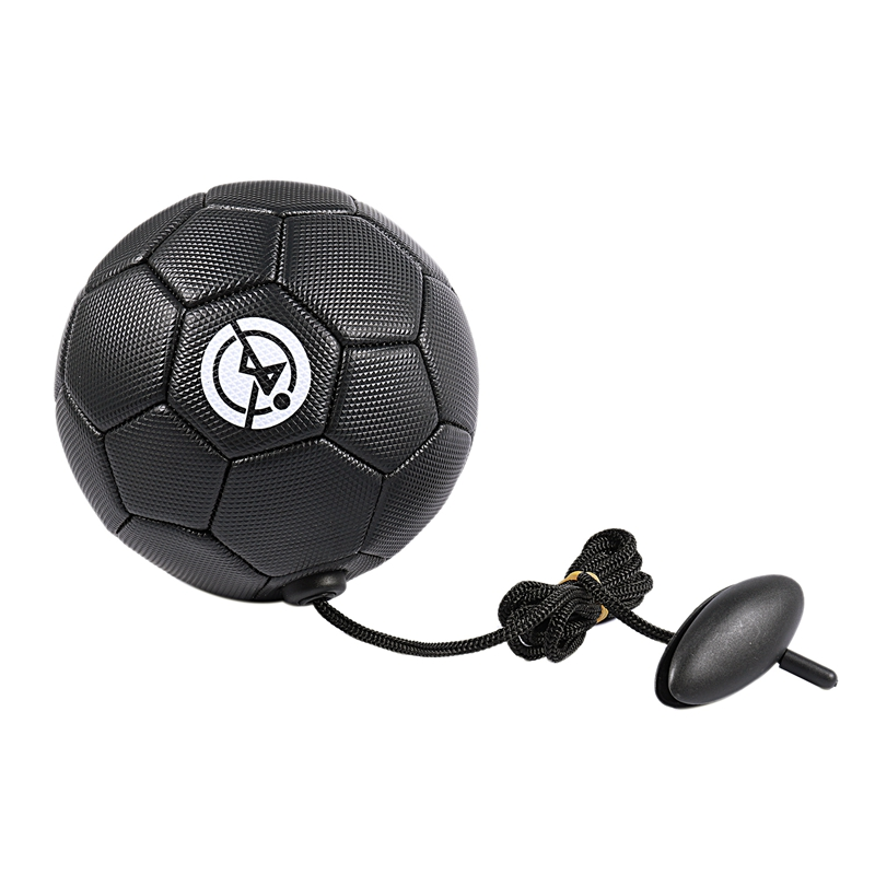 Football Training Ball Kick Soccer Ball Tpu Size 2 Kids Adult Futbol With String Beginner Trainer Practice Belt