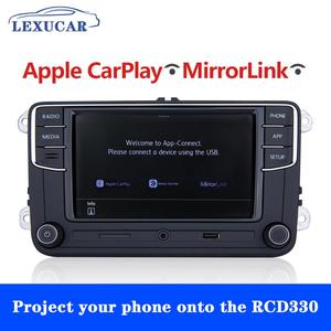 Image 2 - LEXUCAR RCD330 Plus RCD330G RCD 330 330G Carplay Radio 6RD 035 187B For VW Golf 5 6 Jetta CC MK6 MK5  Passat B6 B7 Tiguan 187B