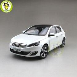 1/18 Peugeot 308 308S 2015 Diecast Modell Auto Spielzeug Jungen Mädchen Geschenke