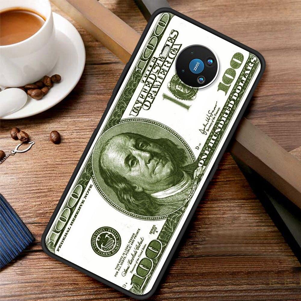 Money Dollars Bill Cash Franklin For Phone Case Nokia 1.3 1.4 2.2 2.3 2.4 3.2 3.4 4.2 5.3 5.4 7.2 8.3 5G C3 C2