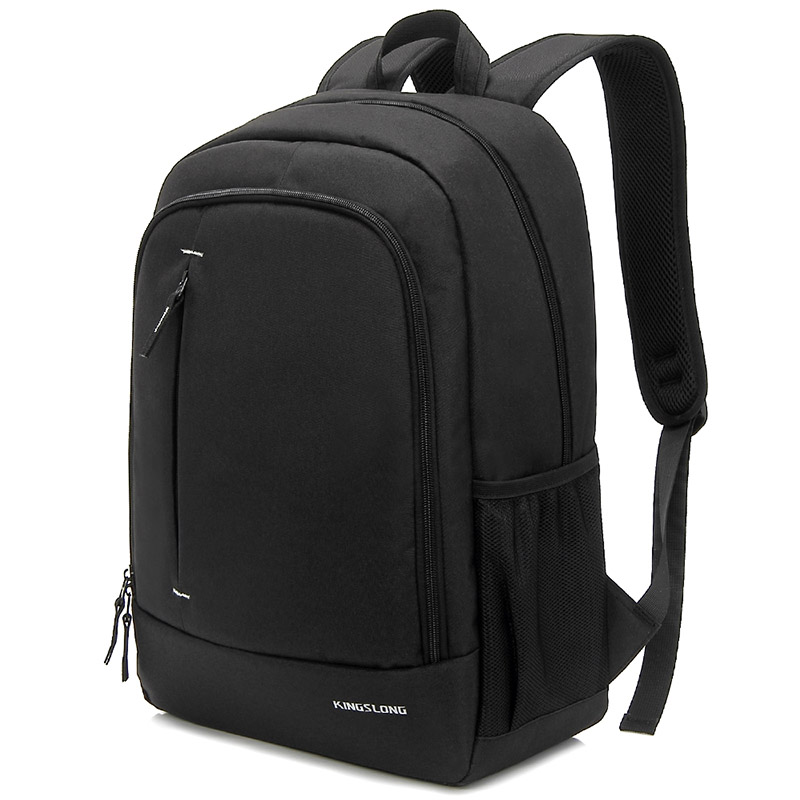 Kingslong School Bags 15.6 inch Laptop backpack for teenager Thin Light-weight backpack computer Mochila for male and female Bag