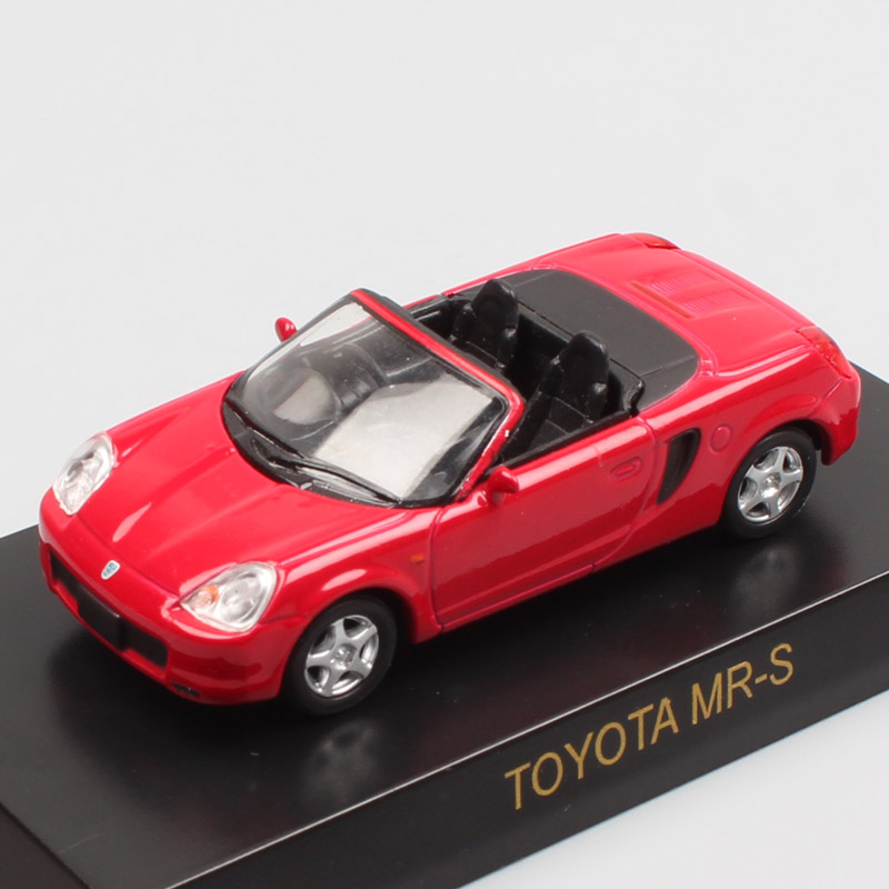 1:64 Scale Kyosho Tiny Toyota MR-S SW20 Spyder Metal Diecast Miniature Vehicles Car Toy Autos Model For Baby Boys Replicas Micro