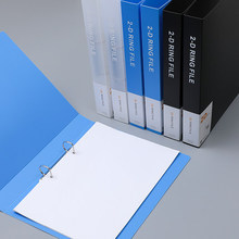 2PCS A4 Ring Binder Folder Office Paper Organizer File Folder A4 Folder Binder