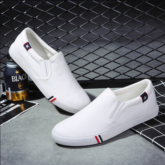 Men's And Women's Casual Shoes Slip On Loafers Hollow Leather Shoes Leisure Shoes
