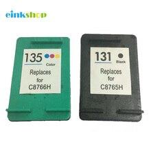 Einkshop совместимый для hp 131 135 чернильный картридж для hp Deskjet 460 5743 5940 5943 6843 photosmart 2573 2613 PSC1600 2350 принтер