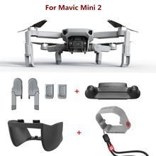 PGYTECH Für DJI Mavic Mini 2 Propeller Motor Halter Fixateur Propeller Protector Objektiv haube fahrwerk