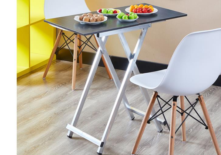 Folding Table Household Dining Table Simple Dining Table Portable Outdoor Placing Table Rectangular Dormitory Folding Table