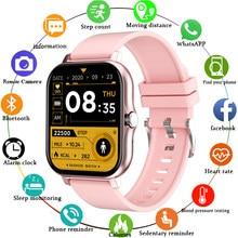 LIGE 2021 New Smart Watch Women Men Bluetooth Call Fitness Tracking Heart Rate Custom Dial Sports Waterproof Women's Smartwatch