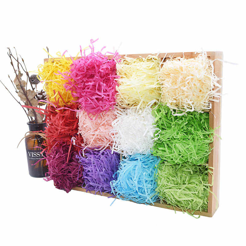 Tissue Shredded Paper Gifts Confetti Box Filler Wedding Party Packaging Decor