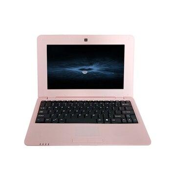 Precio bajo 10 pulgadas barato niños brazo Netbook Android portátil con S500 Rosa iTSOHOO ordenador portátil 1GB RAM 8GB ROM