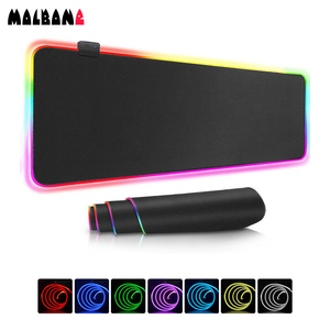 molbone Original Gaming RGB Mouse Pad Manufacturer Supplier XL Extra Large Size Desk Play Mat with Backlit E-sports Gamer Custom