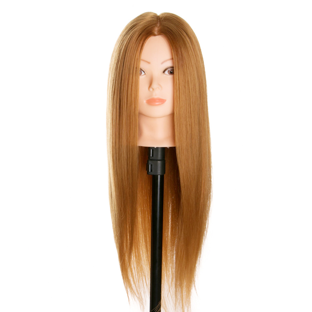 2019 HIgh Quality New Arrival Wholesale Hairdressing Dolls Head Wig Long Hair Practice Training Professional Salon Styling M3