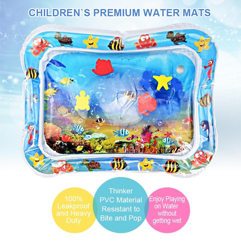 Kreative Baby-Wassermatte aufblasbare tätschelte Kissen Kissen - Baby und Kleinkind Spielzeug - Foto 3