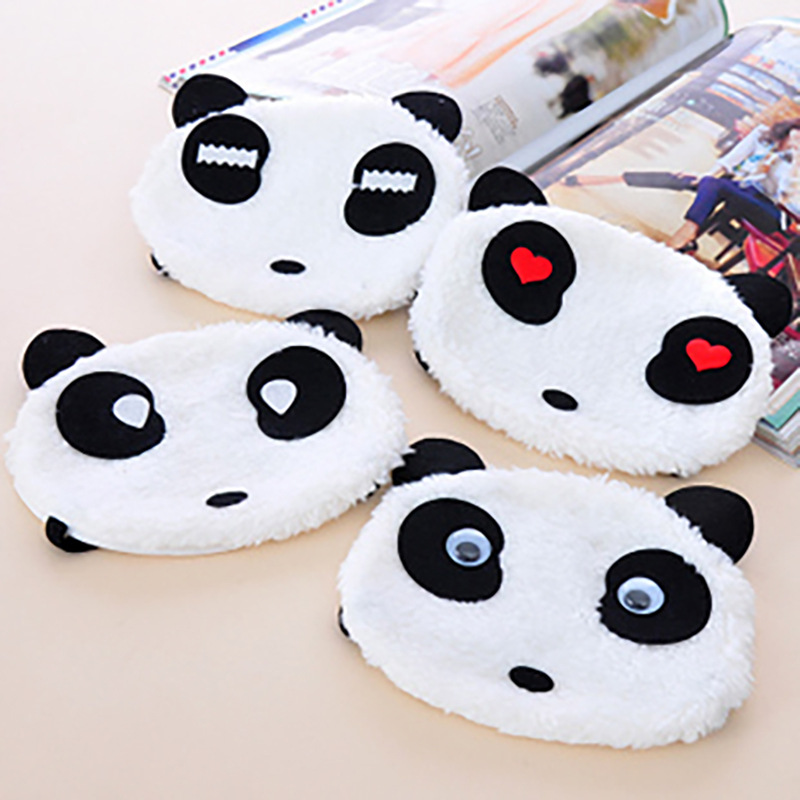 Face Mask White Cute Cartoon Panda Face Mask Japanese-style Face Mask Dustproof Cold Face Mask Can Be Repeated Washing Face Mask