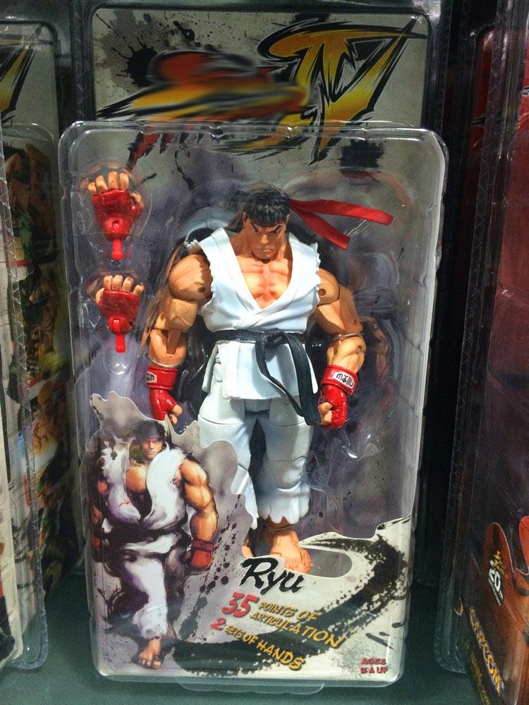 Street Fighter IV Action Figures 18cm 7