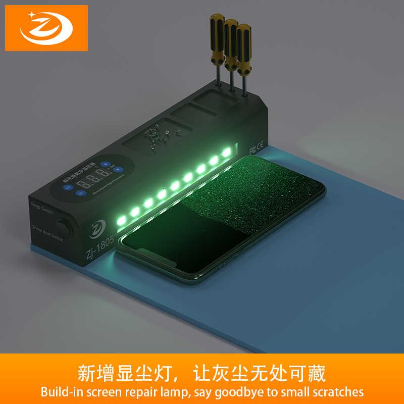 110/220 فولت قابل للتعديل LCD فاصل آلة آيفون 5 5s 6 6S 7 8 شاشة الهاتف المحمول افتتاح منفصلة أدوات إصلاح لوحة التدفئة