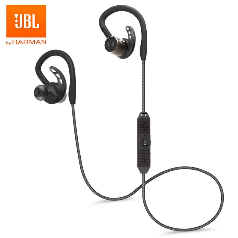 Jbl under armour true sport wireless pivot wireless sport earphones waterproof bluetooth headphones magnetic headset deep bass earbuds handsfree with micphone