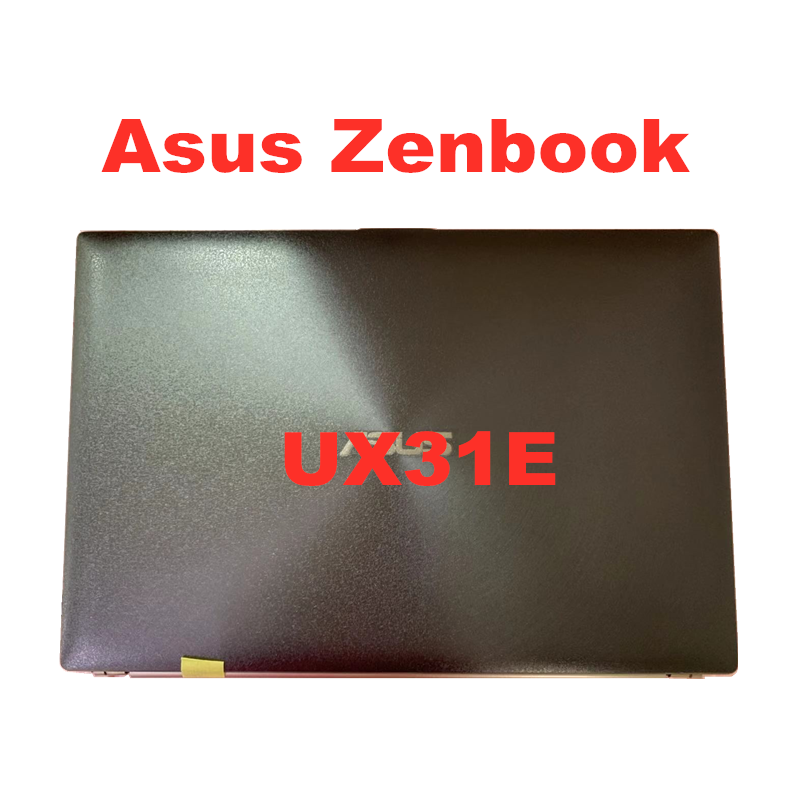 Original For Asus Zenbook UX31E Laptop LCD Screen Assembly Upper Half CLAA133UA02S HW13HDP101LED Assembly Matrix Display Panel