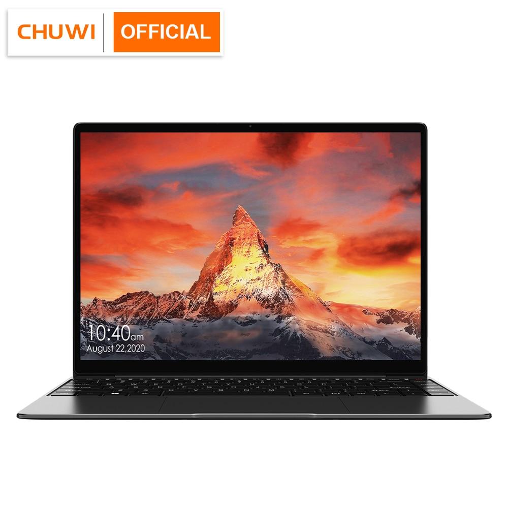 CHUWI GemiBook Pro 14 inç 2K ekran dizüstü 12GB RAM 256GB SSD Intel Celeron dört çekirdekli Windows 10 bilgisayar arkadan aydınlatmalı klavye ile