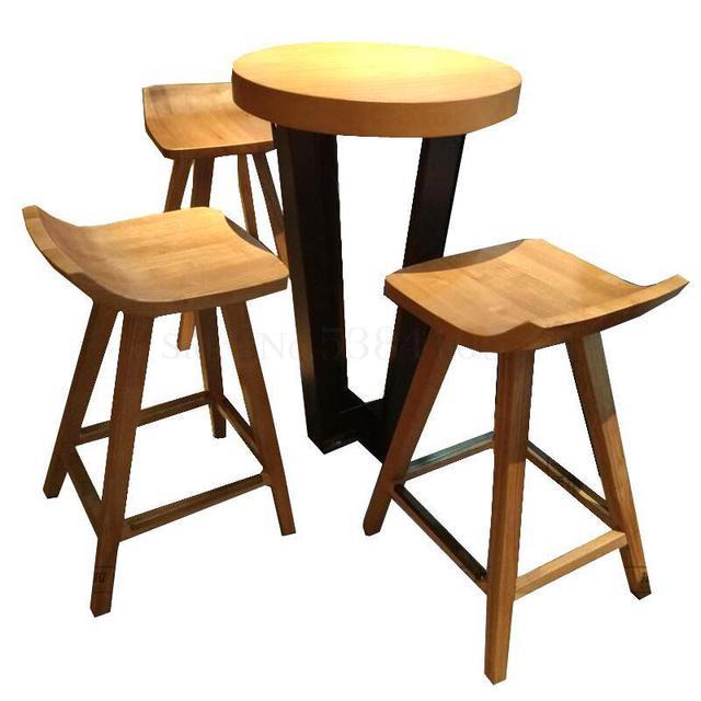 Modern Wood Table Set 1