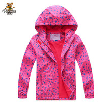2020 Autumn Winter Waterproof Windbreaker Girls Jacket For Child Hooded Star Polar Fleece Girls Outerwear Coat 3-12T Kids Jacket 2020 autumn winter waterproof windbreaker girls jacket for child hooded star polar fleece girls outerwear coat 3 12t kids jacket