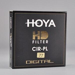 Image 1 - Filtro Japón Hoya HD CPL 58mm 67mm 72mm 77mm 82mm polarización Circular hoya HD CIRPL Slim polarizador para lente de cámara hecho en Japón