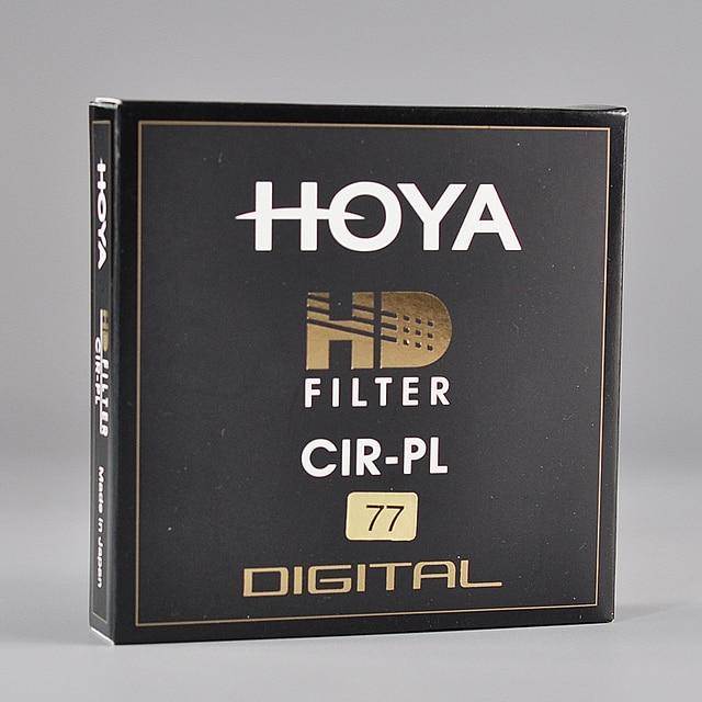 Filtro Japón Hoya HD CPL 58mm 67mm 72mm 77mm 82mm polarización Circular hoya HD CIRPL Slim polarizador para lente de cámara hecho en Japón