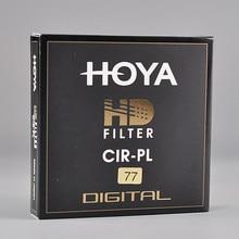 Japonia Hoya HD filtr CPL 58mm 67mm 72mm 77mm 82mm polaryzacja kołowa hoya HD CIRPL Slim polaryzator do obiektywu kamery made in JAPAN