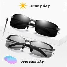 Photochromic Polarized Sunglasses Men Driving Glasses 2019 R